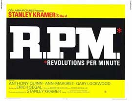 R.P.M. Revolutions Per Minute - 11 x 14 Movie Poster - Style A