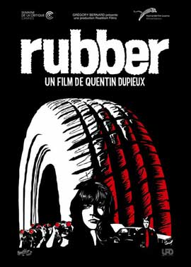 Rubber - 11 x 17 Movie Poster - French Style A