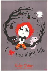 Ruby Gloom - Art Poster - 24 x 36 - Style B