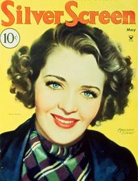 Ruby Keeler - 11 x 17 Silver Screen Magazine Cover 1930's Style A