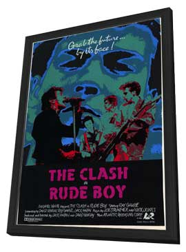Rude Boy - 11 x 17 Movie Poster - Style A - in Deluxe Wood Frame