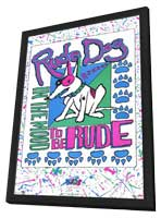 Rude Dog In The Mood to be Rude - 11 x 17 Movie Poster - Style A - in Deluxe Wood Frame