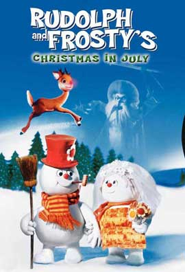 Rudolph and Frosty's Christmas in July - 27 x 40 Movie Poster - Style A