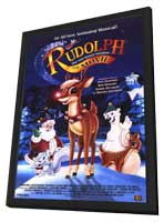 Rudolph: The Movie - 11 x 17 Movie Poster - Style A - in Deluxe Wood Frame