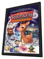 Rudolph the Red-Nosed Reindeer & the Island of Misfit Toys - 11 x 17 Movie Poster - Style A - in Deluxe Wood Frame