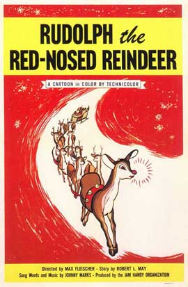 Rudolph The Red Nosed Reindeer - 11 x 17 Movie Poster - Style A