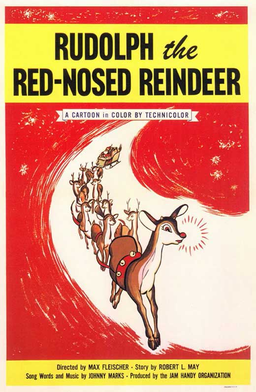 Rudolph The Red Nosed Reindeer Movie Posters From Movie ...