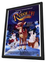 Rudolph the Red-Nosed Reindeer: The Movie - 27 x 40 Movie Poster - Style A - in Deluxe Wood Frame