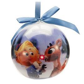 Rudolph the Red-Nosed Reindeer: The Movie - Light-Up Ball Ornament