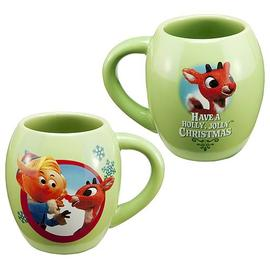 Rudolph the Red-Nosed Reindeer: The Movie - Ceramic Oval Mug