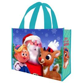 Rudolph the Red-Nosed Reindeer: The Movie - Rudolph Have a Holly Jolly Christmas Large Shopper Tote