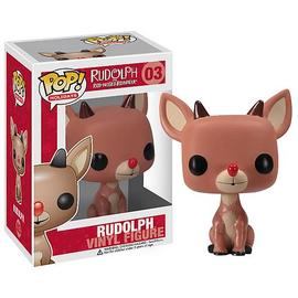 Rudolph the Red-Nosed Reindeer: The Movie - Rudolph Red-Nosed Reindeer Pop Holiday Rudolph Vinyl Figure