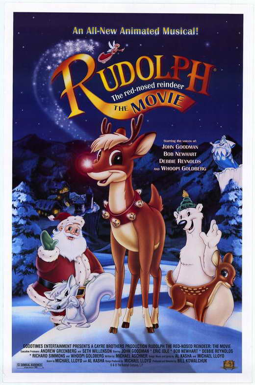 Rudolph the Red-Nosed Reindeer: The Movie Movie Posters ...