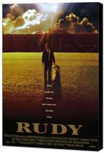 Rudy - 11 x 17 Movie Poster - Style A - Museum Wrapped Canvas