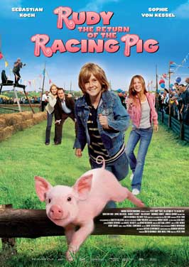 Rudy: The Return of the Racing Pig - 11 x 17 Movie Poster - Style A