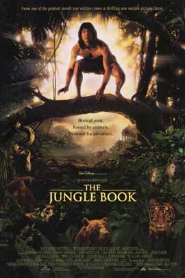 Rudyard Kipling's The Jungle Book - 11 x 17 Movie Poster - Style B