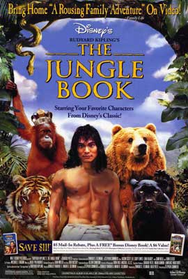Rudyard Kipling's The Jungle Book - 27 x 40 Movie Poster - Style A