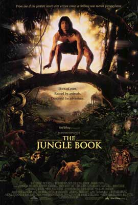 Rudyard Kipling's The Jungle Book - 27 x 40 Movie Poster - Style B
