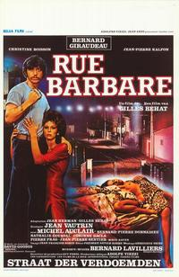 Rue barbare - 27 x 40 Movie Poster - Belgian Style A