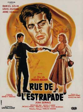 Rue de l'Estrapade - 11 x 17 Movie Poster - French Style A