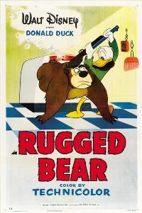 Rugged Bear - 11 x 17 Movie Poster - Style A