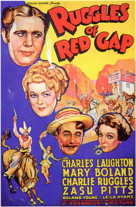 Ruggles of Red Gap - 11 x 17 Movie Poster - Style A