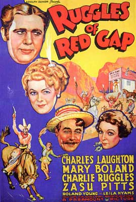 Ruggles of Red Gap - 27 x 40 Movie Poster - Style A