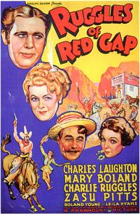 Ruggles of Red Gap - 43 x 62 Movie Poster - Bus Shelter Style A