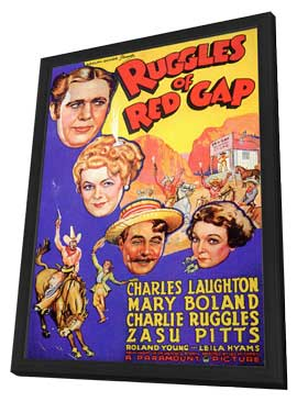 Ruggles of Red Gap - 11 x 17 Movie Poster - Style A - in Deluxe Wood Frame