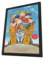 Rugrats in Paris: The Movie - 11 x 17 Movie Poster - Style A - in Deluxe Wood Frame