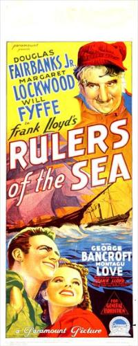 Rulers of the Sea - 14 x 36 Movie Poster - Insert Style A