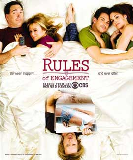 Rules of Engagement (TV) - 11 x 14 TV Poster - Style A