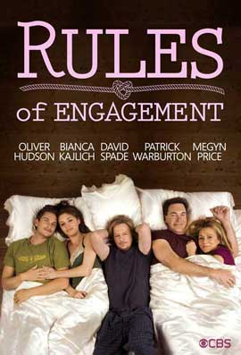 Rules of Engagement (TV) - 11 x 17 TV Poster - Style B