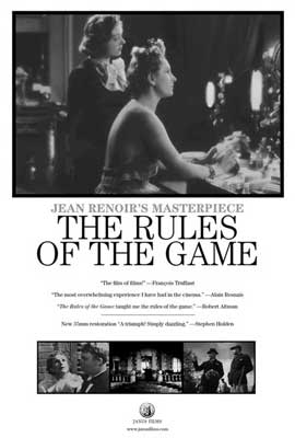 The Rules of the Game - 11 x 17 Movie Poster - Style A