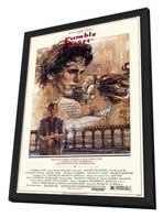 Rumble Fish - 27 x 40 Movie Poster - Style B - in Deluxe Wood Frame