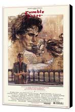 Rumble Fish - 27 x 40 Movie Poster - Style B - Museum Wrapped Canvas