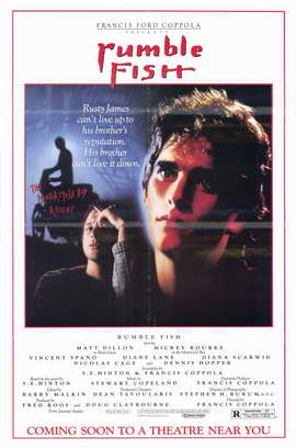 Rumble Fish - 11 x 17 Movie Poster - Style A