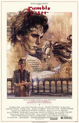Rumble Fish - 11 x 17 Movie Poster - Style B