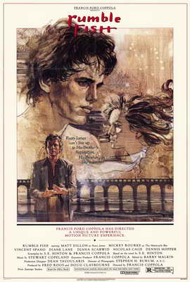 Rumble Fish - 27 x 40 Movie Poster - Style B