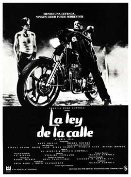 Rumble Fish - 11 x 17 Movie Poster - Spanish Style A