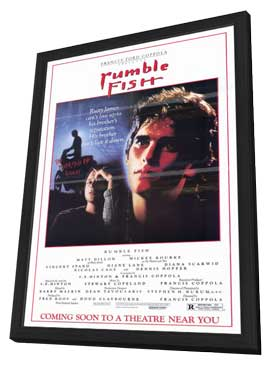 Rumble Fish - 11 x 17 Movie Poster - Style A - in Deluxe Wood Frame