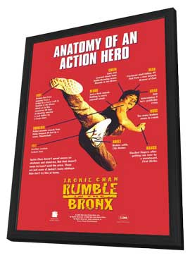 Rumble in the Bronx - 11 x 17 Movie Poster - Style A - in Deluxe Wood Frame