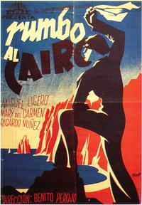 Rumbo Al Cairo - 27 x 40 Movie Poster - Spanish Style A