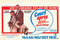 Run After Me Until I Catch You - 11 x 17 Movie Poster - Belgian Style A