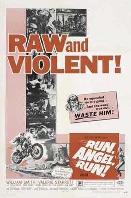 Run, Angel, Run! - 27 x 40 Movie Poster - Style B
