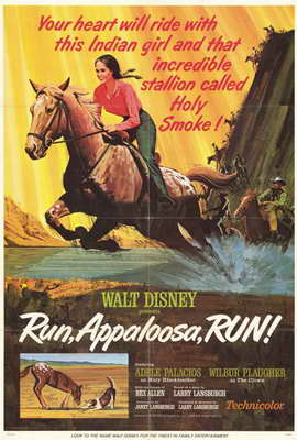 Run Appaloosa Run - 27 x 40 Movie Poster - Style A