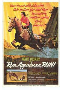 Run Appaloosa Run - 43 x 62 Movie Poster - Bus Shelter Style A