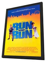 Run Fat Boy Run - 11 x 17 Movie Poster - Style A - in Deluxe Wood Frame