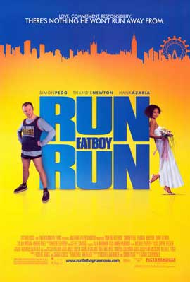 Run Fat Boy Run - 11 x 17 Movie Poster - Style A