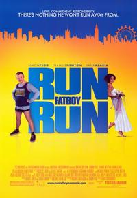 Run Fat Boy Run - 43 x 62 Movie Poster - Bus Shelter Style A